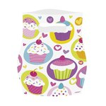 Ensemble de 6 Sacs de Fête Surprise Cupcake