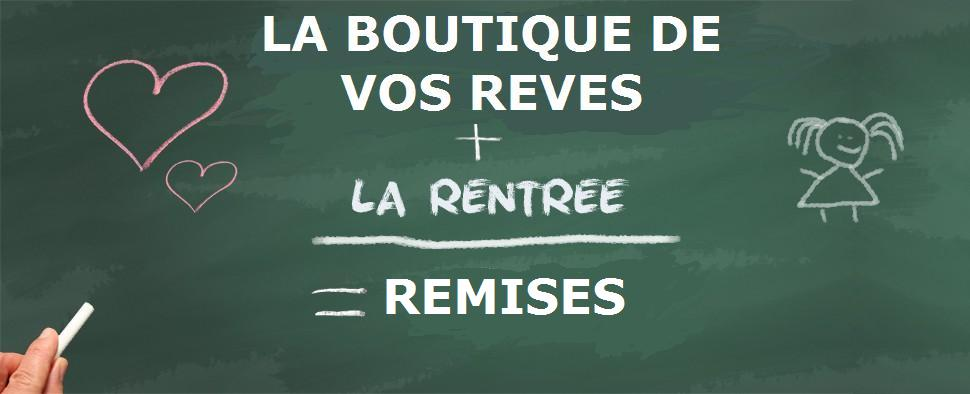 OFFRE RENTREE SCOLAIRE